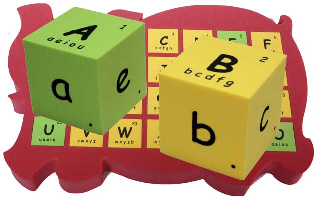 english abc alphabets phonics blocks