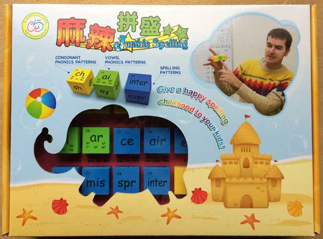 english phonics patterns word family families cubes