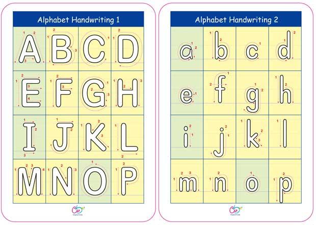 ElephantCube® ABC Fun Cards (large format); alphabet/vocabulary ...