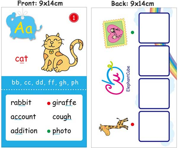 kids english flashcards