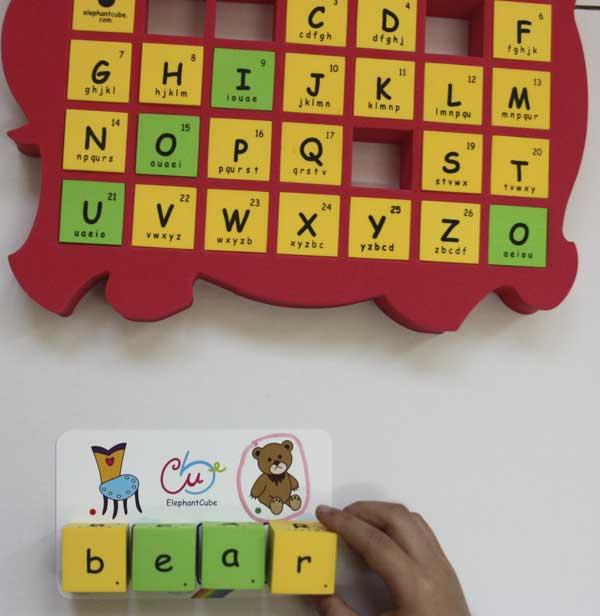 alphabets blocks classroom supplies